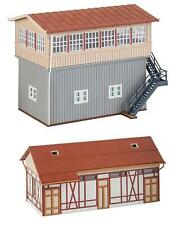 Faller 120113 Ho Railway Control Tower Calw South with Goods Shed #