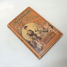 Jugendstil Buch 1890 Amalie Baisch - Aus der Töchterschule ins Leben