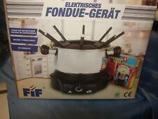 FIF elektrisches Fondue-Set - 1500 Watt - 11 tlg. - NEU