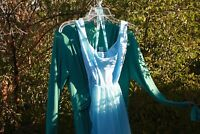 Two Vintage Emma Domb California evening dress's ,