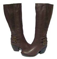 Women's Knee High Fashion BOOTS Hoshi-12 Brown Winter Snow shoes Ladies size 10