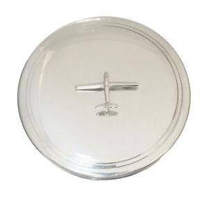 Glider Pewter Jewellery Trinket Round English Pill Box 534