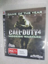 Call of Duty 4 Modern warfare GOTY PS3
