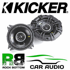 "Kicker 40CS44 4"" inch 10cm 150 Watts 2Way Car Coaxial Speakers Pair incl grilles"