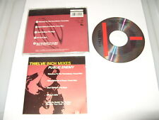 PUBLIC ENEMY - TWELVE INCH MIXES - 5 TRACK CD -1993  cd