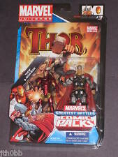 MARVEL UNIVERSE THOR IRON MAN FIGURE COMIC 2 PACK NEW