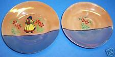 2 Small Floral Dishes, Saucer and Butter Pat Dish_0804