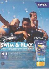 PUBLICITE NIVEA Swim & Play Sin Kids 2010