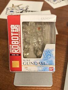 Bandai Micro Robot Spirits Damashii Mobile Suit Gundam RX-78 Action Figure