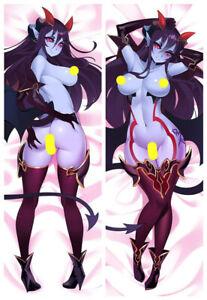 Hellhound Demon Monster Girl Encyclopedia Dakimakura Sexy Body Pillowcase Cover