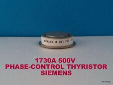 PHASE-CONTROL THYRISTOR BSTP61 33Y SIEMENS 1730A 500V ORIGINAL OLD STOCKS RARE