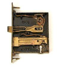 Antique Mortise Lock Door Hardware Architectural Restoration 5164 Brass