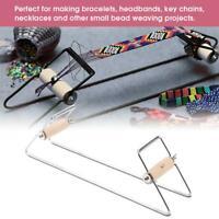 Bead  Machine DIY Craft Belt Headband Key Chain Weaving Beading Tool Durable