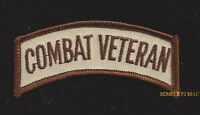 COMBAT VETERAN TAB HAT PATCH PIN UP SPECIAL OPS US ARMY MARINES NAVY AIR FORCE