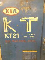 KIA KT-21 CNC TURNING CENTER