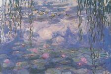 "Claude Monet art poster 24x36"" Nympheas Flowers in a pond classic art print"