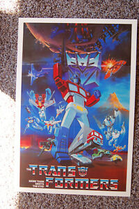 The Transformers TV show promotional poster #1
