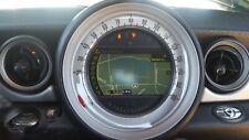 11-15 MINI COOPER NAVIGATION GPS RADIO SPEEDOMETER CLUSTER DISPLAY 2382879