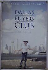DALLAS BUYERS CLUB DS ROLLED ORIG 1SH MOVIE POSTER MATTHEW MCCONAUGHEY (2013)