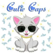 Cutie Caps 40 pack Invisible Clear Soft Nail Defense Guard for Cat Paws / Claws