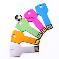 5pcs USB Metal Key Flash Memory Thumb Stick Drive Pen 1MB 1GB 2GB 4GB 8GB 16GB