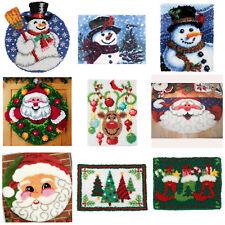 Gex Latch Hook Rug Kit 19 6 Craft Christmas Gift Decoration Making Santa