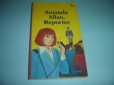 Amanda Allan Reporter By Tim Wall 1983 Paperback