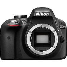 Nikon D3300 Digital SLR Camera (Black) Body