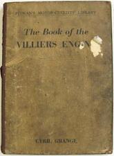 Libro de los propietarios de Motocicleta Original Motor Villiers Manual 1960 #F0-G.4215