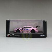 1/43 Alloy Mercedes Benz AMG  C 63 DTM  Pink Racing Car Model W Acrylic case