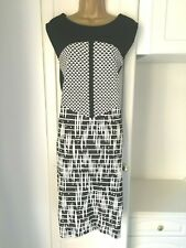 Debenhams size uk 22 nwt of £45 unlined but thickish dress  stylish bust 48""