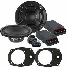 "Polk Audio DB6502 DB+ 200W RMS Component Car Stereo Speakers w/6"" x 9"" Adapters"