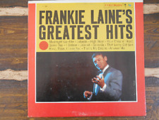 Frankie Laine's Greatest Hits CL 1231 Vintage Vinyl Record LP 1958