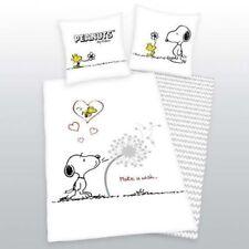 """Linge de lit Peanuts Snoopy """" Make a Wish """" Cadeau Cool 135 x 200 cm nouveau"""