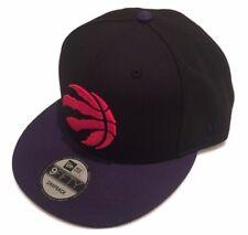 Toronto Raptors NBA New Era 9 Fifty Negro Púrpura Gorro Gorra Sombrero Gorra  de logotipo en rojo 17bb2d9cbf1
