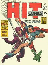 Hit Comics #24 Photocopy Comic Book The Red Bee, Stormy Foster