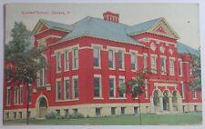 1911 POSTCARD GRADED SCHOOL GENEVA OHIO SENT TO 88 WILLIAMS ST ELYRIA OHIO