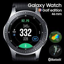 NEW Samsung Galaxy Bluetooth Smart Watch GPS GOLF EDITION 46mm SM-R800 - Silver