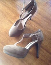 Ladies Designer XTI Suede Christmas Party Shoes Size 5 NEW