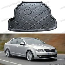 Fit for 2013-2014 Skoda Octavia trunk liner tray car cargo trunk mat