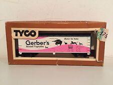 Ho Tyco 355D Gerber 40' Woodside Billboard Reefer Gsvx 1001 In Original Box!