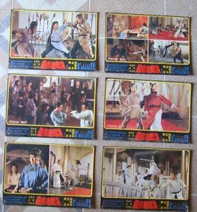 TOUGH GUY (6) Lobby Card 26X37CM China Hong Kong KUNG FU Movie Poster 70S