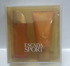 ESCADA SPORT SPIRIT Edt 100ml psray+ Body Lotion 150ml , descatalogada.