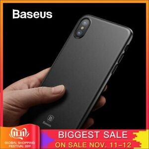 Baseus Super Super Thin Wing Case For iPhone Xs Xs Max XR 2018 2019Case Hard PP