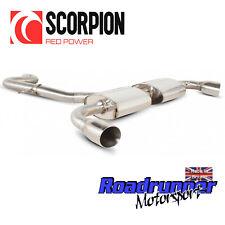 "Scorpion Audi TT MK2 2.0 TFSi 2WD Exhaust System Cat Back 3"" Polish Tips SAUS032"