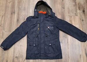 ROUGH STOCK Winter Jacket Navy Blue