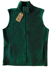 Men's WOOLRICH Green Andes Fleece Vest Large L NWT NEW Nice!