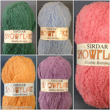 Snowflake DK 8ply SIRDAR Knitting Wool 50gm Ball **FREE Pattern Included**