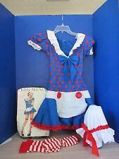 LEG AVENUE~RAGDOLL Maid HALLOWEEN COSTUME~Dress~Bonnet~Stockings~Small / Medium