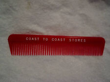 """COAST TO COAST HARDWARE STORES VINTAGE COMB,Red,hair,5"""""""